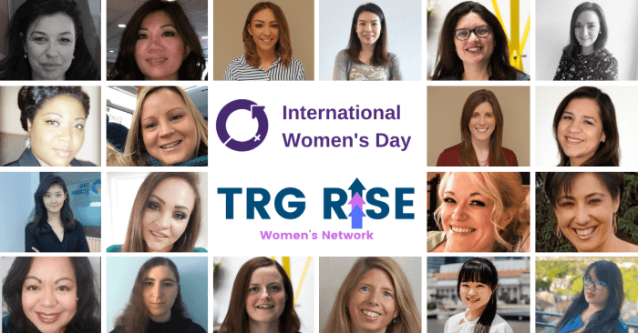 TRG Screen celebrates International Women's Day 2021