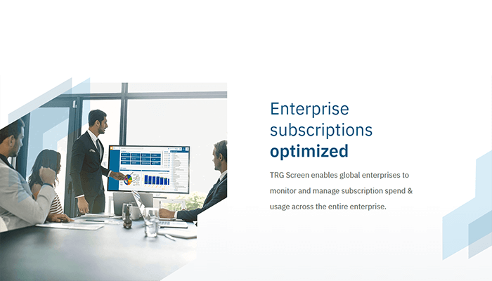 TRG Screen launches new website on Enterprise Subscription Management